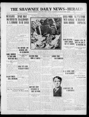 Primary view of The Shawnee Daily News-Herald (Shawnee, Okla.), Vol. 20, No. 229, Ed. 1 Sunday, June 6, 1915