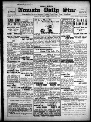 Primary view of Nowata Daily Star (Nowata, Okla.), Vol. 14, No. 114, Ed. 1 Tuesday, January 30, 1923