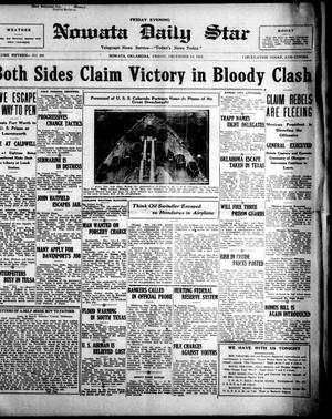 Primary view of Nowata Daily Star (Nowata, Okla.), Vol. 15, No. 205, Ed. 1 Friday, December 14, 1923
