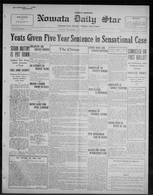 Primary view of Nowata Daily Star (Nowata, Okla.), Vol. 16, No. 191, Ed. 1 Sunday, November 30, 1924
