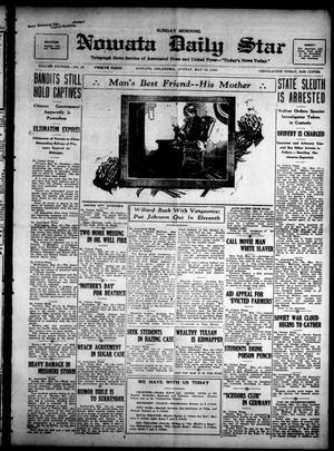 Primary view of Nowata Daily Star (Nowata, Okla.), Vol. 15, No. 29, Ed. 1 Sunday, May 13, 1923