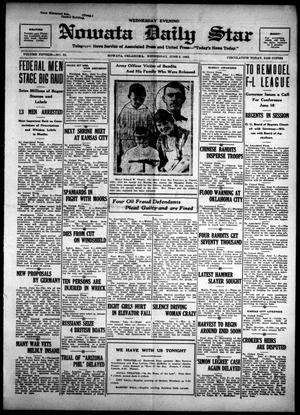 Primary view of Nowata Daily Star (Nowata, Okla.), Vol. 15, No. 53, Ed. 1 Wednesday, June 6, 1923