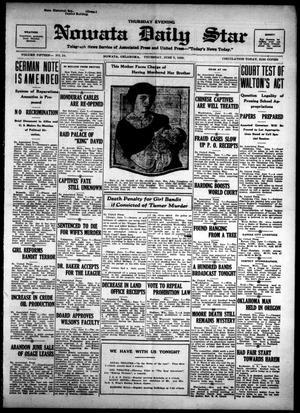 Primary view of Nowata Daily Star (Nowata, Okla.), Vol. 15, No. 54, Ed. 1 Thursday, June 7, 1923