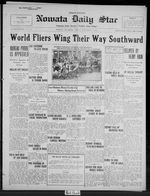 Primary view of Nowata Daily Star (Nowata, Okla.), Vol. 16, No. 118, Ed. 1 Friday, September 19, 1924