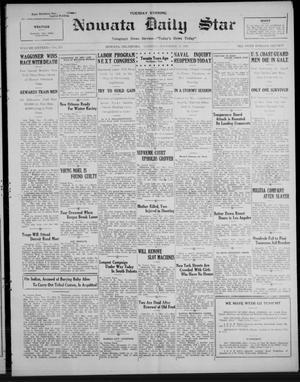 Primary view of Nowata Daily Star (Nowata, Okla.), Vol. 16, No. 213, Ed. 1 Tuesday, November 17, 1925