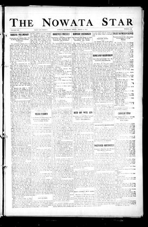 Primary view of object titled 'The Nowata Star (Nowata, Okla.), Vol. 8, No. 11, Ed. 1 Friday, March 8, 1912'.