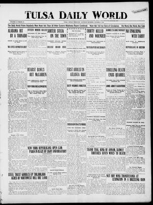 Primary view of object titled 'Tulsa Daily World (Tulsa, Indian Terr.), Vol. 2, No. 20, Ed. 1 Saturday, October 6, 1906'.