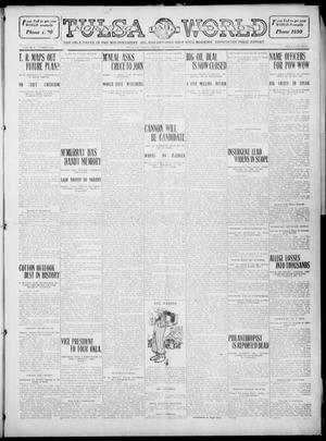 Primary view of object titled 'Tulsa Daily World (Tulsa, Okla.), Vol. 5, No. 286, Ed. 1 Friday, August 19, 1910'.