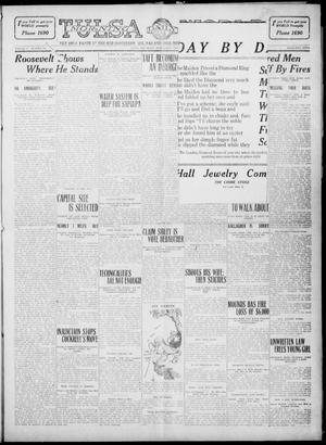 Primary view of object titled 'Tulsa Daily World (Tulsa, Okla.), Vol. 5, No. 290, Ed. 1 Wednesday, August 24, 1910'.