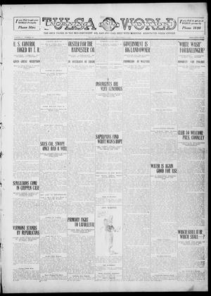 Primary view of object titled 'Tulsa Daily World (Tulsa, Okla.), Vol. 5, No. 302, Ed. 1 Wednesday, September 7, 1910'.