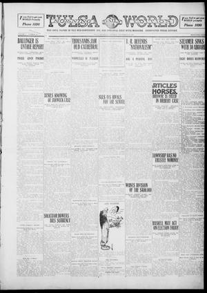 Primary view of object titled 'Tulsa Daily World (Tulsa, Okla.), Vol. 5, No. 305, Ed. 1 Saturday, September 10, 1910'.