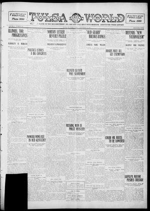 Primary view of object titled 'Tulsa Daily World (Tulsa, Okla.), Vol. 5, No. 310, Ed. 1 Friday, September 16, 1910'.