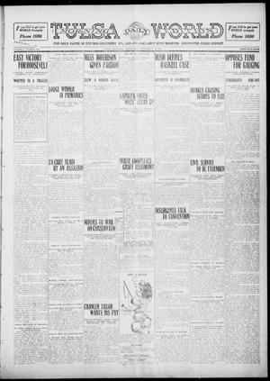 Primary view of object titled 'Tulsa Daily World (Tulsa, Okla.), Vol. 5, No. 320, Ed. 1 Wednesday, September 28, 1910'.