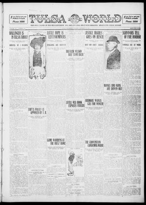 Primary view of object titled 'Tulsa Daily World (Tulsa, Okla.), Vol. 6, No. 18, Ed. 1 Tuesday, October 11, 1910'.