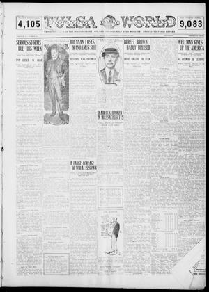 Primary view of object titled 'Tulsa Daily World (Tulsa, Okla.), Vol. 6, No. 25, Ed. 1 Wednesday, October 19, 1910'.