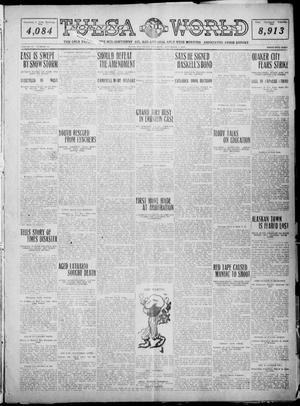 Primary view of object titled 'Tulsa Daily World (Tulsa, Okla.), Vol. 6, No. 40, Ed. 1 Saturday, November 5, 1910'.