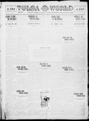 Primary view of object titled 'Tulsa Daily World (Tulsa, Okla.), Vol. 6, No. 42, Ed. 1 Tuesday, November 8, 1910'.