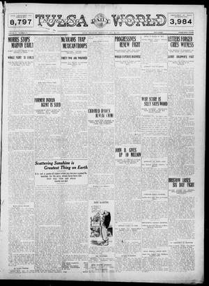 Primary view of object titled 'Tulsa Daily World (Tulsa, Okla.), Vol. 6, No. 79, Ed. 1 Wednesday, December 21, 1910'.