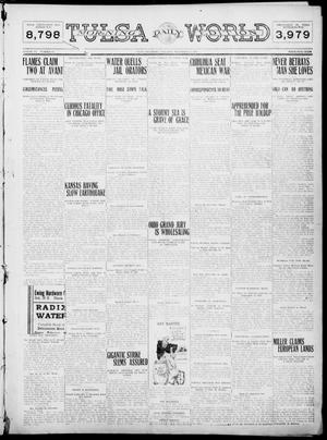 Primary view of object titled 'Tulsa Daily World (Tulsa, Okla.), Vol. 6, No. 82, Ed. 1 Saturday, December 24, 1910'.