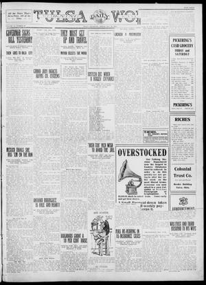Primary view of object titled 'Tulsa Daily World (Tulsa, Okla.), Vol. 6, No. 87, Ed. 1 Friday, December 30, 1910'.