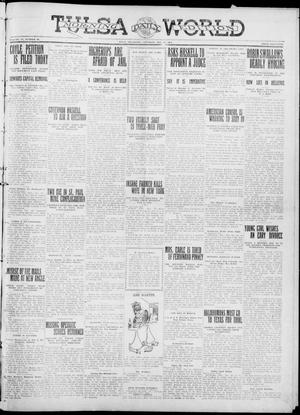 Primary view of object titled 'Tulsa Daily World (Tulsa, Okla.), Vol. 6, No. 88, Ed. 1 Saturday, December 31, 1910'.