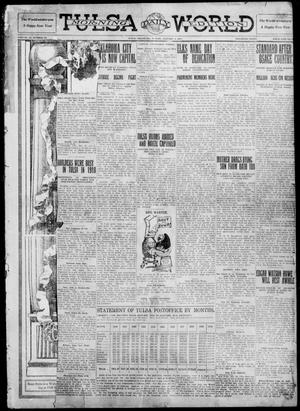 Primary view of object titled 'Tulsa Daily World (Tulsa, Okla.), Vol. 6, No. 89, Ed. 1 Sunday, January 1, 1911'.