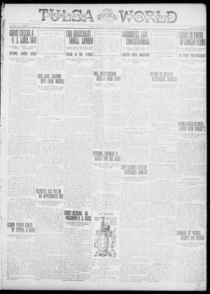 Primary view of object titled 'Tulsa Daily World (Tulsa, Okla.), Vol. 6, No. 91, Ed. 1 Wednesday, January 4, 1911'.