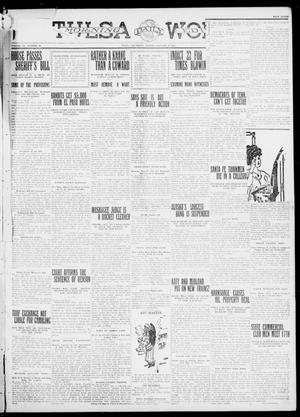 Primary view of object titled 'Tulsa Daily World (Tulsa, Okla.), Vol. 6, No. 93, Ed. 1 Friday, January 6, 1911'.