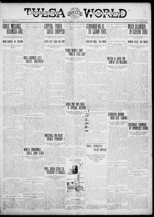 Primary view of object titled 'Tulsa Daily World (Tulsa, Okla.), Vol. 6, No. 97, Ed. 1 Wednesday, January 11, 1911'.