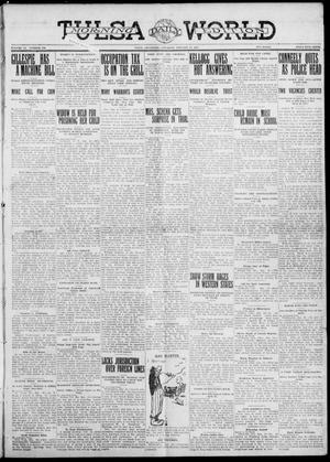 Primary view of object titled 'Tulsa Daily World (Tulsa, Okla.), Vol. 6, No. 100, Ed. 1 Saturday, January 14, 1911'.