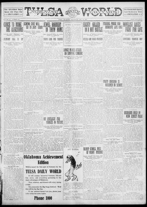 Primary view of object titled 'Tulsa Daily World (Tulsa, Okla.), Vol. 6, No. 109, Ed. 1 Wednesday, January 25, 1911'.