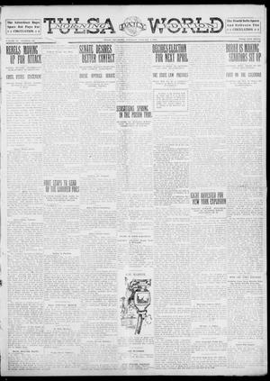 Primary view of object titled 'Tulsa Daily World (Tulsa, Okla.), Vol. 6, No. 118, Ed. 1 Saturday, February 4, 1911'.