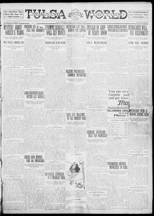 Primary view of object titled 'Tulsa Daily World (Tulsa, Okla.), Vol. 6, No. 120, Ed. 1 Tuesday, February 7, 1911'.