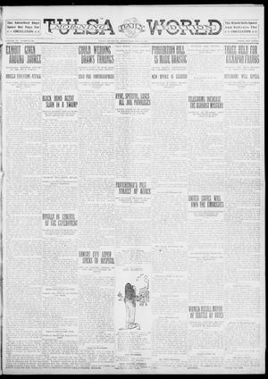 Primary view of object titled 'Tulsa Daily World (Tulsa, Okla.), Vol. 6, No. 121, Ed. 1 Wednesday, February 8, 1911'.