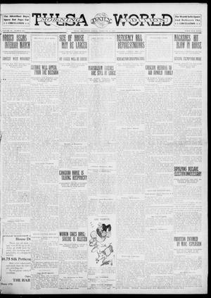 Primary view of object titled 'Tulsa Daily World (Tulsa, Okla.), Vol. 6, No. 123, Ed. 1 Friday, February 10, 1911'.