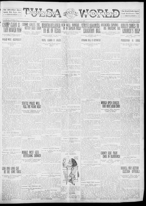 Primary view of object titled 'Tulsa Daily World (Tulsa, Okla.), Vol. 6, No. 126, Ed. 1 Tuesday, February 14, 1911'.
