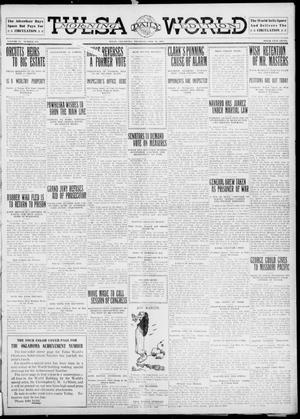 Primary view of object titled 'Tulsa Daily World (Tulsa, Okla.), Vol. 6, No. 128, Ed. 1 Thursday, February 16, 1911'.