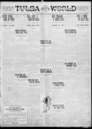 Primary view of object titled 'Tulsa Daily World (Tulsa, Okla.), Vol. 6, No. 129, Ed. 1 Friday, February 17, 1911'.