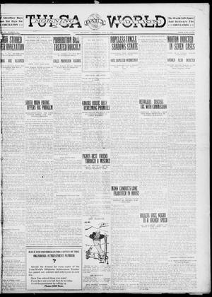 Primary view of object titled 'Tulsa Daily World (Tulsa, Okla.), Vol. 6, No. 130, Ed. 1 Saturday, February 18, 1911'.