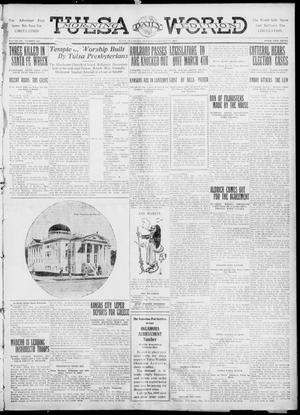 Primary view of object titled 'Tulsa Daily World (Tulsa, Okla.), Vol. 6, No. 132, Ed. 1 Tuesday, February 21, 1911'.