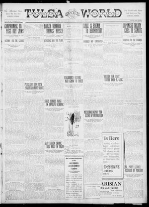 Primary view of object titled 'Tulsa Daily World (Tulsa, Okla.), Vol. 6, No. 133, Ed. 1 Wednesday, February 22, 1911'.