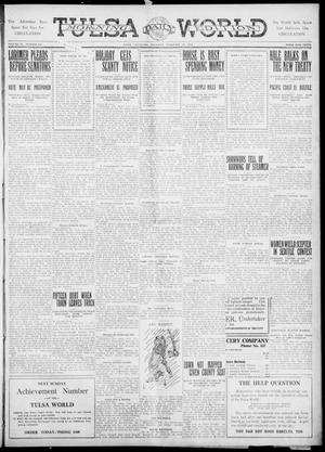 Primary view of Tulsa Daily World (Tulsa, Okla.), Vol. 6, No. 134, Ed. 1 Thursday, February 23, 1911