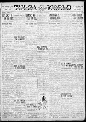 Primary view of object titled 'Tulsa Daily World (Tulsa, Okla.), Vol. 6, No. 142, Ed. 1 Saturday, March 4, 1911'.