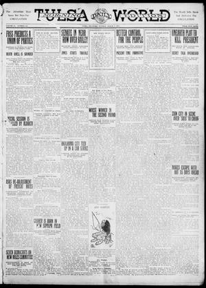 Primary view of object titled 'Tulsa Daily World (Tulsa, Okla.), Vol. 6, No. 144, Ed. 1 Tuesday, March 7, 1911'.