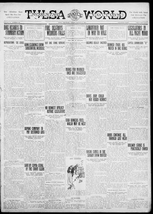 Primary view of object titled 'Tulsa Daily World (Tulsa, Okla.), Vol. 6, No. 149, Ed. 1 Sunday, March 12, 1911'.