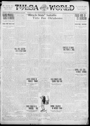 Primary view of object titled 'Tulsa Daily World (Tulsa, Okla.), Vol. 6, No. 156, Ed. 1 Tuesday, March 21, 1911'.