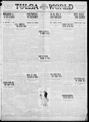Primary view of object titled 'Tulsa Daily World (Tulsa, Okla.), Vol. 6, No. 157, Ed. 1 Wednesday, March 22, 1911'.