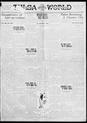 Primary view of object titled 'Tulsa Daily World (Tulsa, Okla.), Vol. 6, No. 160, Ed. 1 Saturday, March 25, 1911'.
