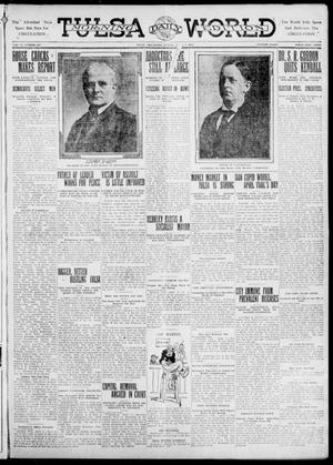 Primary view of object titled 'Tulsa Daily World (Tulsa, Okla.), Vol. 6, No. 167, Ed. 1 Sunday, April 2, 1911'.