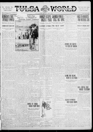 Primary view of object titled 'Tulsa Daily World (Tulsa, Okla.), Vol. 6, No. 170, Ed. 1 Thursday, April 6, 1911'.